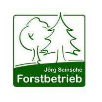 Forstbetrieb, grünes Logo, Tannen, Bäume